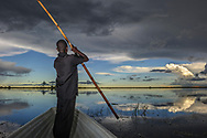Impressionen aus den Bangweulu Swamps im nördlichen Sambia. Unterwegs mit Guides. Lewis Chauda.