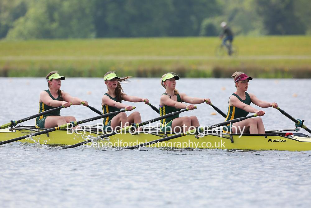 Race: J16 4x G Time Trial<br /> <br /> Abingdon Rowing Club F<br /> <br /> National Schools Regatta 2021<br /> Sunday