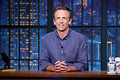 """August 24, 2021 - USA: NBC's """"Late Night With Seth Meyers"""" - Episode:"""