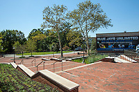 Architectural photo of the Cordish Lacross Center at Johns Hopkins University by Jeffrey Sauers of Commercial Photographics