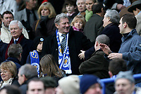 Photo: Pete Lorence.<br />Leicester City v Coventry City. Coca Cola Championship. 17/02/2007.<br />Milan Mandaric was clearly delighted with the team's 3-0 victory.
