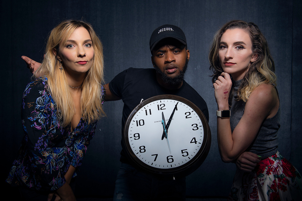 The cast of Adult Swim's Time and Temperature