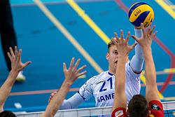 Bennie Tuinstra of Lycurgus in action during the last final league match between Draisma Dynamo vs. Amysoft Lycurgus on April 25, 2021 in Apeldoorn.