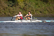 Crew: 16 - Dillon / Sims - Mortlake Anglian & Alpha Boat Club - Op 2x Club<br /> <br /> Pairs Head 2020