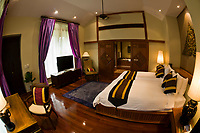 Interior of a villa, Four Seasons Resort Chiang Mai, Mae Rim district, near Chiang Mai, Northern Thailand