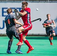 St.-Job-In 't Goor / Antwerpen -  Max Kuijpers met Callum Mackenzie (GB) . Nederland Jong Oranje Heren (JOH) - Groot Brittannie   COPYRIGHT  KOEN SUYK
