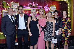 Jean-Christophe Babin, Jon Kortajarena, Caroline Vreeland, Lottie Moss and guests attending a ribbon cutting ceremony of a Bulgari pop-up store at the Galleries Lafayette department store as part of 2017/18 Fall Winter Haute Couture Fashionweek in Paris, France on July 04, 2017. Photo by Aurore Marechal/ABACAPRESS.COM