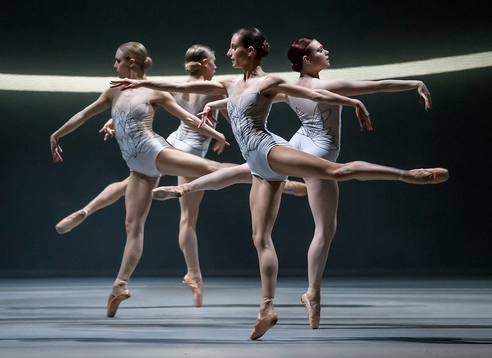 +Embargoed until 7.30pm Tues 19th April '16 + The world premiere of Scottish Ballet's new Swan Lake by David Dawson at The Theatre Royal, Glasgow. The swans. Picture Robert Perry 18th April 2016<br /> <br /> Must credit photo to Robert Perry<br /> FEE PAYABLE FOR REPRO USE<br /> FEE PAYABLE FOR ALL INTERNET USE<br /> www.robertperry.co.uk<br /> NB -This image is not to be distributed without the prior consent of the copyright holder.<br /> in using this image you agree to abide by terms and conditions as stated in this caption.<br /> All monies payable to Robert Perry<br /> <br /> (PLEASE DO NOT REMOVE THIS CAPTION)<br /> This image is intended for Editorial use (e.g. news). Any commercial or promotional use requires additional clearance. <br /> Copyright 2014 All rights protected.<br /> first use only<br /> contact details<br /> Robert Perry     <br /> 07702 631 477<br /> robertperryphotos@gmail.com<br /> no internet usage without prior consent.         <br /> Robert Perry reserves the right to pursue unauthorised use of this image . If you violate my intellectual property you may be liable for  damages, loss of income, and profits you derive from the use of this image.