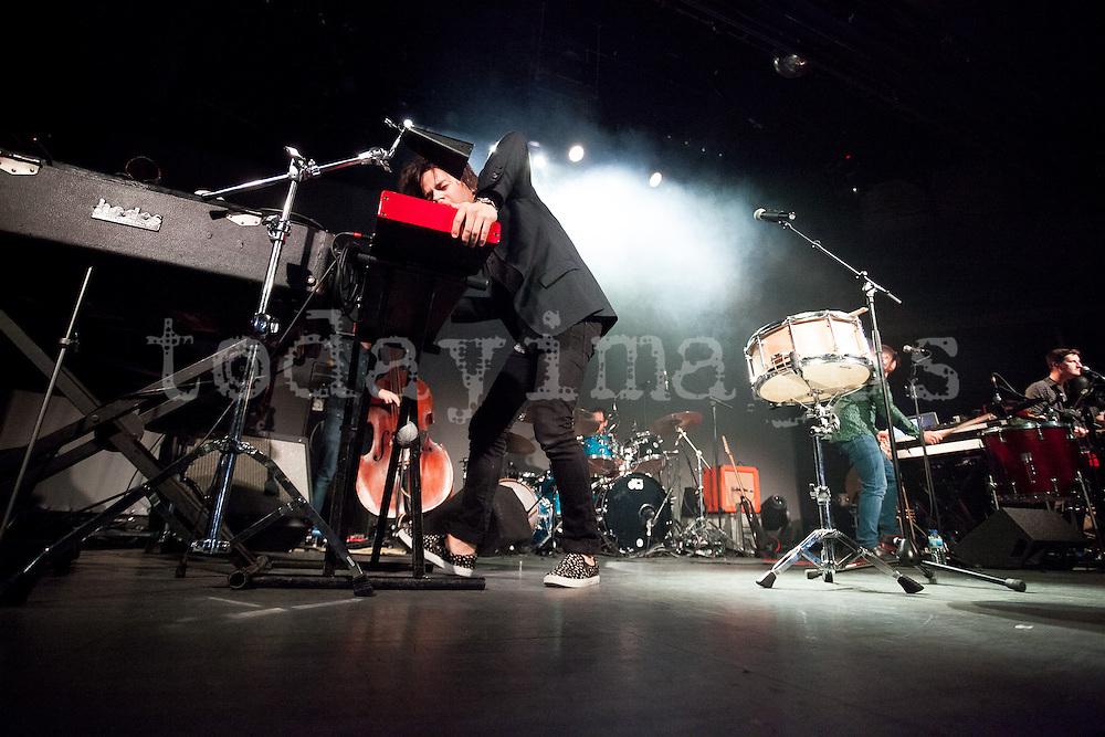 Jamie Cullum performs  at the  Riviera  Club in Madrid
