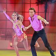 NLD/Hilversum/20110318 - Sterren Dansen op het IJs show 8, Michael Boogerd en Darya Nucci
