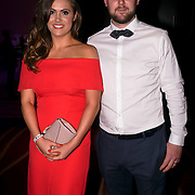 Westminster, UK. 20th Apr, 2017. Laura & Michael Meyer blogger attends The annually National UK Blog Awards at Park Plaza Westminster Bridge, London. by See Li