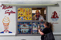 Mister Softee ice cream, seen at the Time-Warner Center
