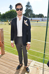 DIEGO BIVERO-VOLPE at the Summer Solstice Party during the Boodles Tennis event hosted by Beulah London and Taylor Morris at Stoke Park, Park Road, Stoke Poges, Buckinghamshire on 21st June 2014.