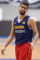 Jaime Fernandez during training session of Spain national team before european qualifiers to World Cup 2019 at Coliseum Burgos in Madrid, Spain. November 26, 2017. (ALTERPHOTOS/Borja B.Hojas)