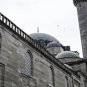 Dedicated to Suleiman the Magnificent (or Suleiman I), the longest-reigning Ottoman Sultan (1520-1566), Süleymaniye Mosque stands prominently on Istanbul's Third Hill and is considered the city's most important mosque. It was completed in 1558.