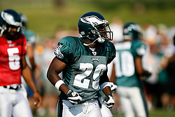 Philadelphia Eagles running back LeSean McCoy #29 during the Philadelphia Eagles NFL training camp in Bethlehem, Pennsylvania at Lehigh University on Saturday August 8th 2009. (Photo by Brian Garfinkel)