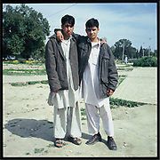 Young men in Kabul.
