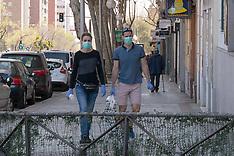 Coronavirus in Madrid - 16 March 2020