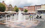 Kościerzyna (woj. pomorskie), 2015-07-13. Rynek w Kościerzynie