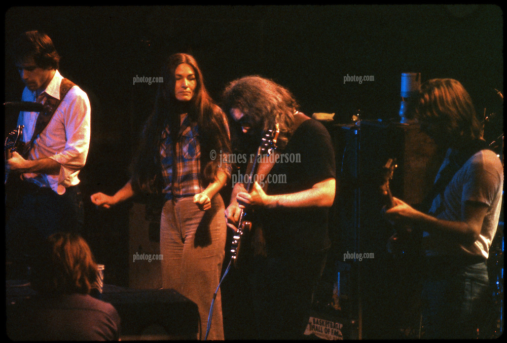The Grateful Dead Live in Concert at the Providence Civic Center on January 14, 1979