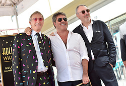 Simon Cowell receives a star on the Hollywood Walk of Fame. 22 Aug 2018 Pictured: Simon Cowell,Nicholas Cowell,Tony Cowell. Photo credit: AXELLE/BAUER-GRIFFIN / MEGA TheMegaAgency.com +1 888 505 6342