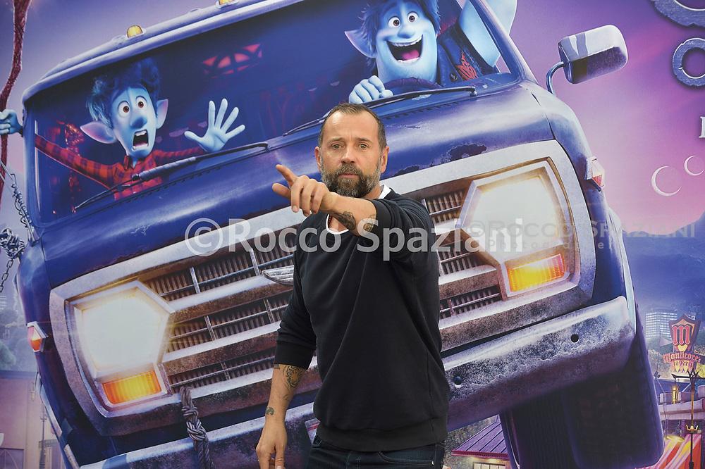 Fabio Volo during photocall for the presentation of the Disney cartoon Pixar Onward. Rome (Italy), February 25th, 2020