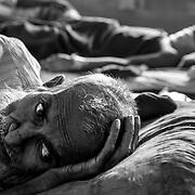 The Rohingyas ward of Sader hospital in Cox's Bazar. Since the end of august 2017, the beginning of the crisis, more than 600,000 Rohingyas have fled Myanmar to seek refuge in Bangladesh. Cox's Bazar - october 31st 2017.<br /> L'unité Rohingyas de l'hôpital Sader à Cox's bazar. Depuis le début de la crise, fin août 2017, plus de 600000 Rohingyas ont fuit la Birmanie pour trouver refuge au Bangladesh. Cox's Bazar le 31 octobre 2017.