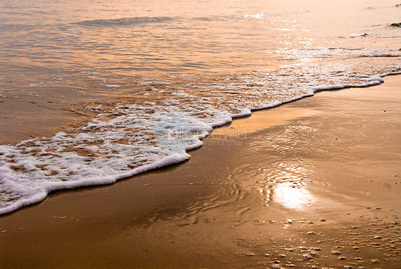 Playa de Oliva. Valencia.