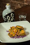 """Southern"" fried chicken confit (Miyazaki namban style with smoked paprika tartar sauce) at SakaMai."