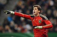 Fotball<br /> Tyskland v Argentina<br /> 03.03.2010<br /> Foto: Witters/Digitalsport<br /> NORWAY ONLY<br /> <br /> Torwart Rene Adler (Deutschland)<br /> Testspiel Deutschland - Argentinien 0:1