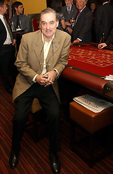 Former footballer GEORGE BEST at a party to celebrate the opening of The Sportsman - a casino, bar and restaurant in Old Quebec Street, London W1 on 12th January 2005.  Proceeds from the casino were donated to the charity Sparks the sports charity.<br /><br />NON EXCLUSIVE - WORLD RIGHTS