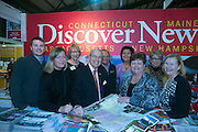 21/1/16  US Ambassador Kevin O'Malley at the Discover New England stand at the Holiday World Show in the RDS in Dublin. Picture: Arthur Carron