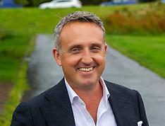 Scottish Liberal Democrat Alex Cole-Hamilton goes for leaderhip job , Edinburgh, 28 July 2021