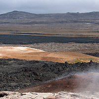 At present time the Krafla volcanic site is still considered as active. The ground underneath your feet is everything else than solid. If you leave the marked paths, you will do it on your own risks.