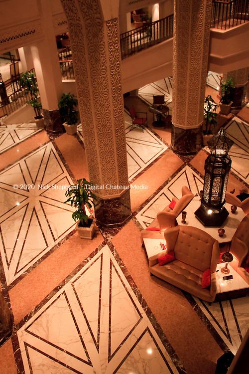 Hotel Lobby in the United Arab Emirates