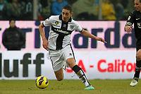 "Ishak Belfodil Parma.Parma 13/01/2013 Stadio ""Tardini"".Football Calcio Serie A 2012/13.Parma v Juventus.Foto Insidefoto Paolo Nucci."