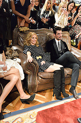 KYLIE MINOGUE and DAVID GANDY at the Dolce & Gabbana London Collections: Mens Event 2014 held at Dolce & Gabbana, 53-55 New Bond Street, London on 5th January 2014.