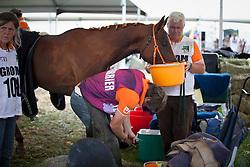 Netherlands team of grooms<br /> Endurance - Alltech FEI World Equestrian Games™ 2014 - Normandy, France.<br /> © Hippo Foto Team - Jantien Van Zon