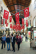 Turkey, Istanbul, Interior of the Grand Bazaar