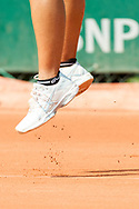 Service during the Roland Garros French Tennis Open 2018, Preview, on May 21 to 26, 2018, at the Roland Garros Stadium in Paris, France - Photo Pierre Charlier / ProSportsImages / DPPI
