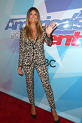 HOLLYWOOD, CA - AUGUST 15: Tyra Banks at America's Got Talent Season 12 Live Show arrivals at The Dolby Theatre in Hollywood, California on August 15, 2017. 15 Aug 2017 Pictured: Heidi Klum. Photo credit: MPIFS/Capital Pictures / MEGA TheMegaAgency.com +1 888 505 6342