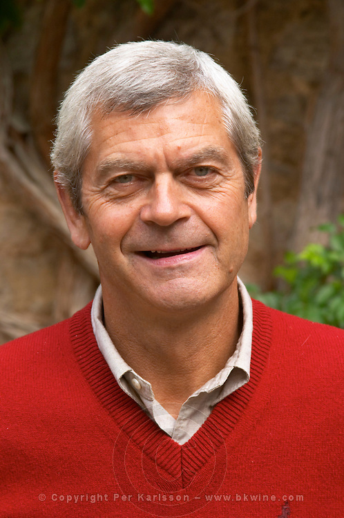 Michel Laroche, owner and wine maker of Domaine Michel Laroche, Chablis, Bourgogne