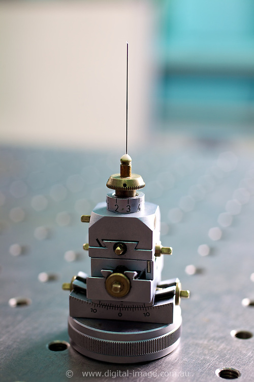 Powder Diffraction Beamline.   stage of Powder Diffration Beamline   Australian Synchrotron