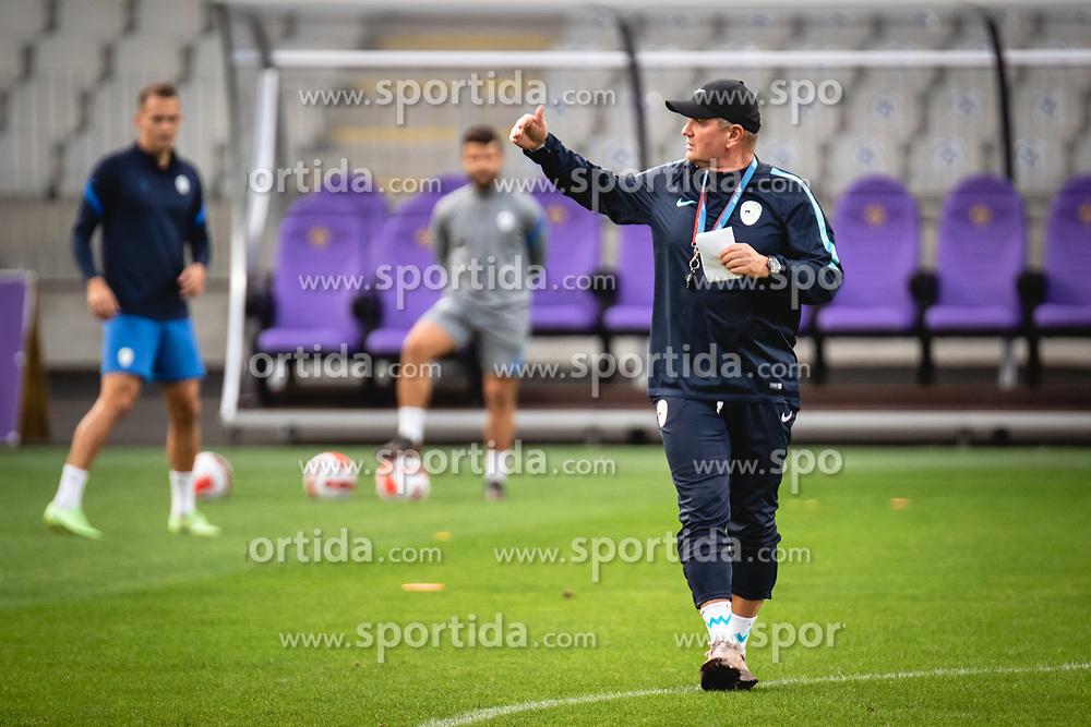 Matjaz Kek during practice session of Slovenian national team prior to world cup 2022 qualifiers, on 5 of October, 2021 in Ljudski Vrt, Maribor, Slovenia. Photo by Blaž Weindorfer / Sportida
