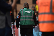 """Amember of the Wycombe Wanderers """"Tango Team"""" during the EFL Sky Bet League 1 match between Wycombe Wanderers and Oxford United at Adams Park, High Wycombe, England on 15 September 2018."""