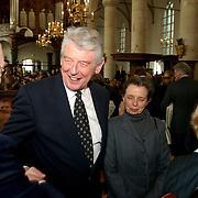 Mattheus Passion 2002 Naarden, Wim Kok en Rita Roukema