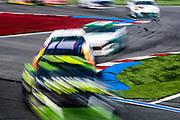 September 28-30, 2018. Charlotte Motorspeedway, ROVAL400: long exposure racing action