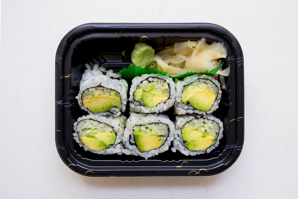 Avocado Cucumber Roll from Kumo Sushi ($4.79) - Sick Day - chest cold