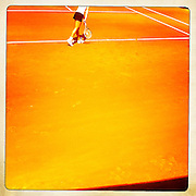 Roland Garros 2011. Paris, France. May 28th 2011..Australian player Jarmila GAJDOSOVA against Andrea PETKOVIC on the court 1