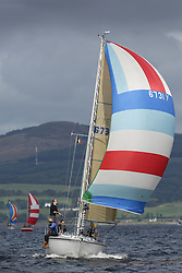 Peelport Clydeport Largs Regatta Week 2013 <br /> <br /> Class 3, 6731Y, Zebedee, GK24, Garth Wilson/Lucy Downie, FYC<br /> <br /> Largs Sailing Club, Largs Yacht Haven, Scottish Sailing Institute